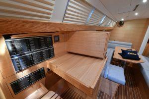 Komfortable Navigation einer Ovni 445